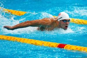 Pływanie w triathlonie: styl motylkowy