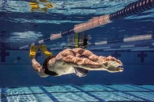 Pływanie w płetwach