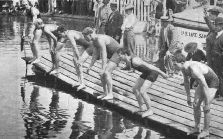 Ewolucja stylu dowolnego w pływaniu