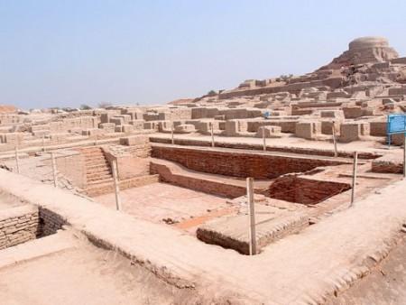 Mohenjo-daro, najstarszy basen do pływania
