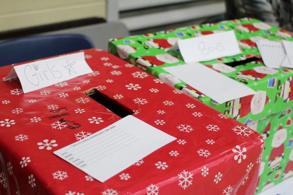 Christmas Cracker - pudełka na losy