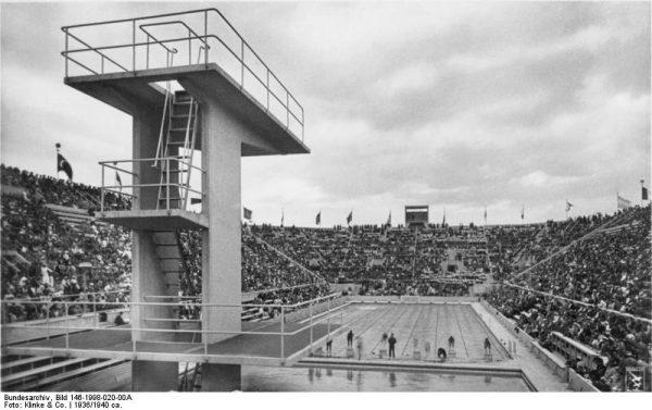 Basen na Igrzyskach Olimpijskich w Berlinie 1936 r.