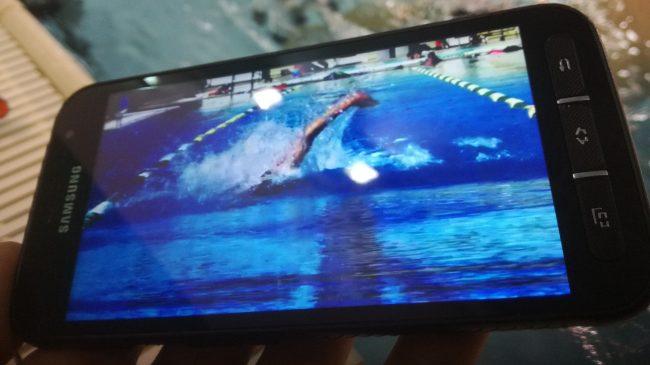 Smartfon z nagraniem wideo coraz częściej gości u nas na zajęciach jako pomoc w treningu.